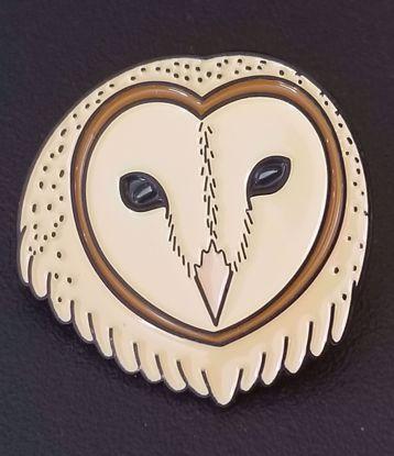 Picture of Enamel Barn Owl Pin